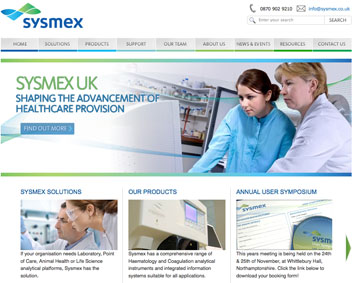 Sysmex - marketing strategy implementation support provided by TMS